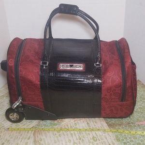 Brighton Luggage Ruby red/black